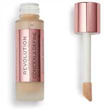 Makeup Revolution Conceal & Define Foundation F8